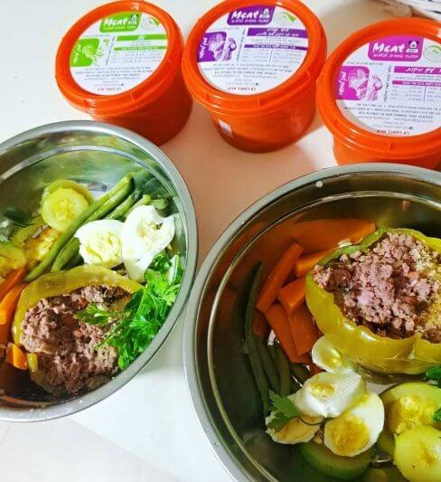 MEAT – תזונה טבעית לכלבים