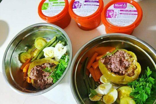 MEAT - תזונה טבעית לכלבים